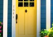 Doors - Yellow Front Door