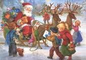 Puzzle Distribution des cadeaux