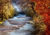 torrent en automne