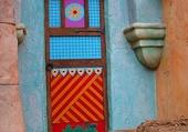 Doors - Colorful door