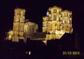 Cathédrale de Laon la nuit