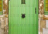 Puzzle Doors - Green door - Belgium