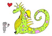 Dragon et chevalier