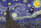 Doctor Who - Tardis Van Gogh