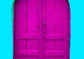 Doors - Magenta door