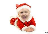 Puzzle Bébé Papa Noel