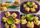 Puzzle moelleux à l'ananas