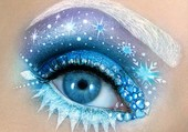 Puzzle Eye Makeup