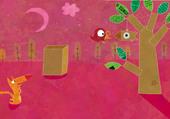 Puzzle Oiseau et renard