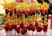 brochette de fruits