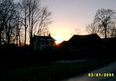 Coucher de soleil chez Pépin