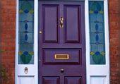 Doors - Purple front door