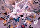 Puzzle Le vol des papillons