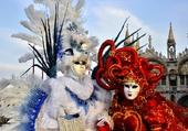 Venise Rouge et Blanc