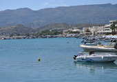 port de Sitia en Crête
