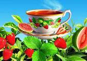 Tasse fraises