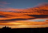 levée de soleil sur Carpentras