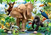 Puzzle Jeunes de la jungle