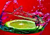 Citron dans verre