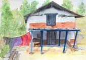 maison népal