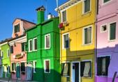 Puzzle Maisons colorées