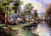 Thomas Kindade Le Canal
