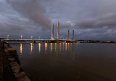 Le pont J. Chaban-Delmas
