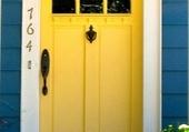 Puzzle Doors - Yellow front door