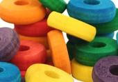 rondelles colorées