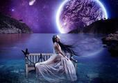 Puzzle au clair de lune