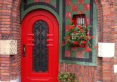 Doors - Red door