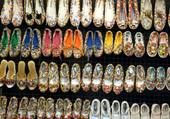 Chaussures en boutons