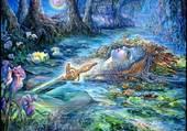 Puzzle guerrière d'eau