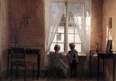 la fenêtre-Hammershoi