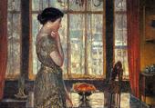 Puzzle new-york winter window-1919
