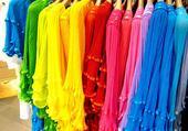 costumes multicolors