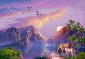 Puzzle Le Paradis Sur Terre