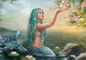 jeune sirène fantaisie