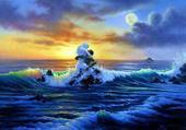 Puzzle la mer