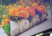 Puzzle jardiniere fleurie