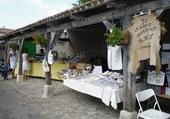 Sur un marché à l'Ile de Ré