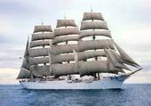 Le quatre-mâts barque Sedov