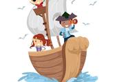 pirates sur bateau
