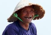 Vieux pêcheur de Hoï An