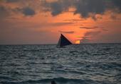 Puzzle Coucher de soleil à Boracay