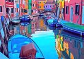 Burano-Venise-Italie