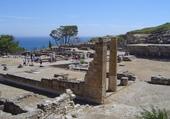 ruines de Camiros à Rhodes