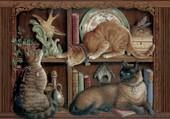Puzzle les 3 chats
