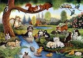 paysage animaux