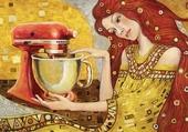 Peinture artdéco cuisine